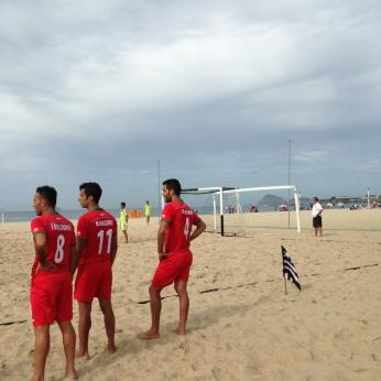 Futebol de areia Irã 1
