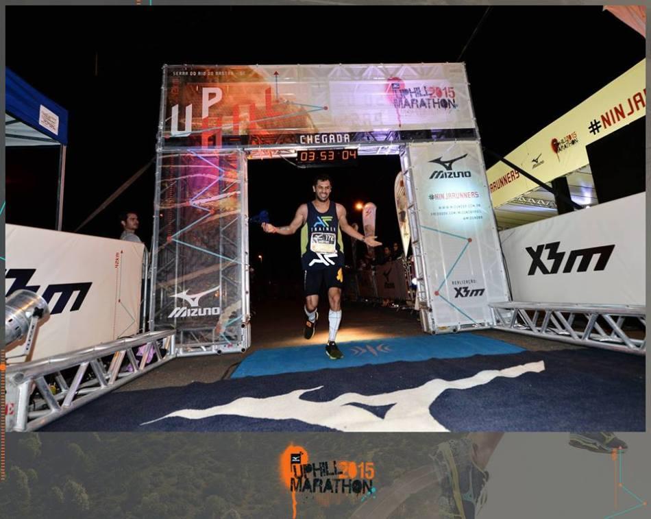 Fabiano MArtins UPHILL 2015 chegada