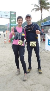 Chegada da Maratona Desafio 28 Praias