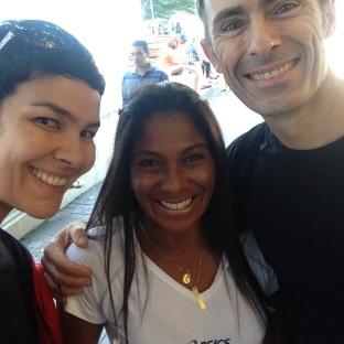 Sheila, Duza Alves e Cesar