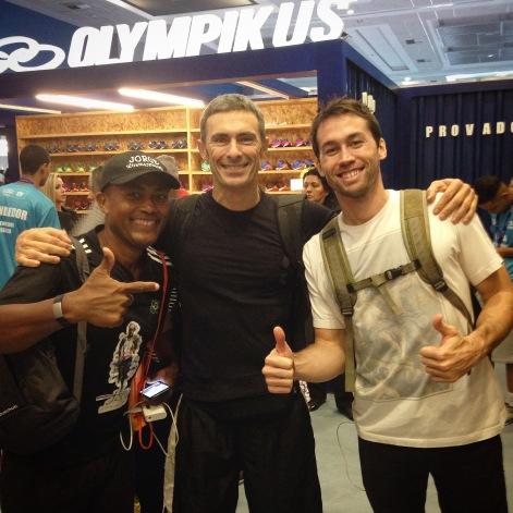 Jorge Ultramaratonista, Cesar e Santiago
