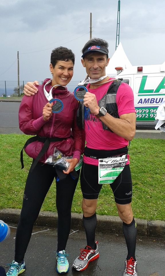 Sheila e Cesar Mizuno Uphill Marathon 2014