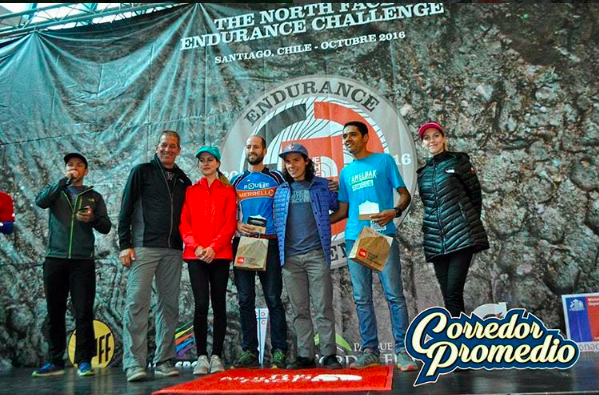 Endurance Challenge The North Face Chile 2016 - Podio