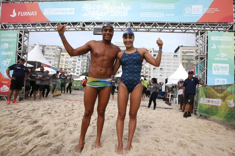 Rei e Rainha do Mar 2016, Praia de Copacabana, posto 5. 10 de Dezembro de 2016, Rio de Janeiro, RJ, Brasil. Foto: Satiro Sodré/SSPress/Effect Sport