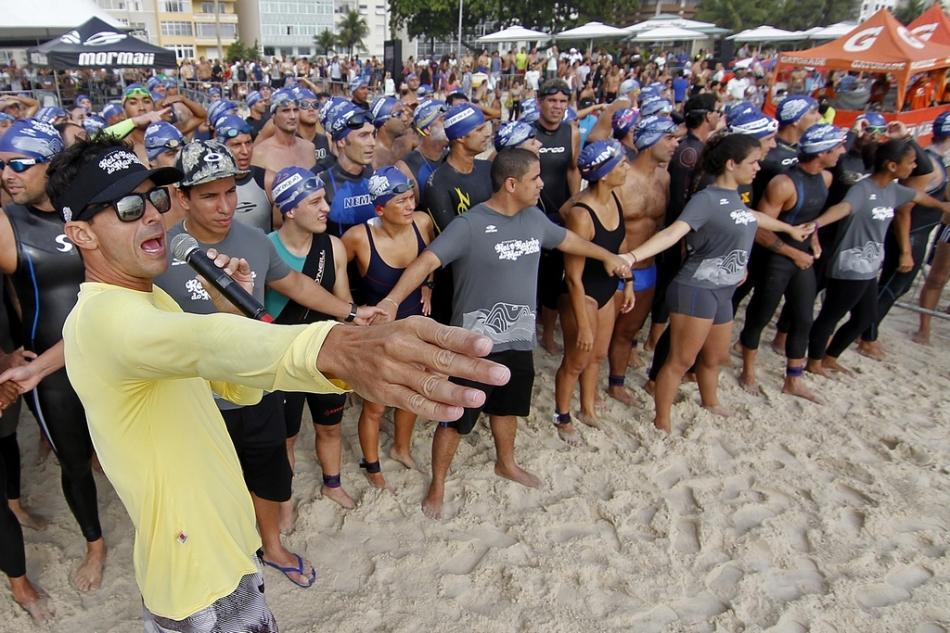 Rei e Rainha do Mar 2016, Praia de Copacabana, posto 5. 10 de Dezembro de 2016, Rio de Janeiro, RJ, Brasil. Foto: Vitor Silva/SSPress/Effect Sport